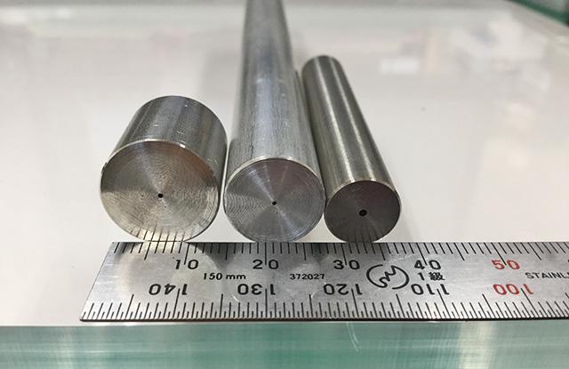 ガンドリルでは世界最小!φ0.5からの深孔加工